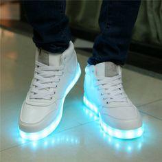 39 mejores imágenes de Zapatillas de luz | Zapatillas