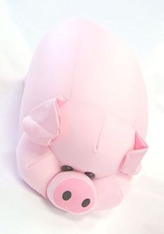 Fat Pig, Pull Toy, Cushions, Pillows, Piggy Bank, Paper Dolls, Pig Stuff, Plush, Cushion Pillow