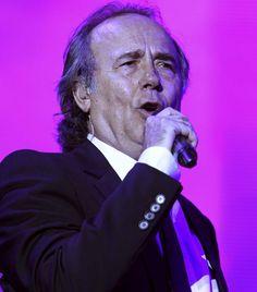 Joan Manuel Serrat en concierto.