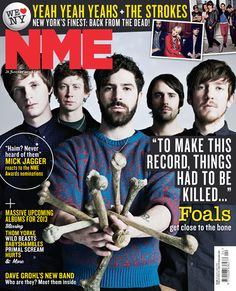 See all the latest NME Covers from your favourite artists, celebrities and more. Nme Magazine, Magazine Covers, Closing Party, The Strokes, Mick Jagger, Music Bands, Rock And Roll, Album, Magazines