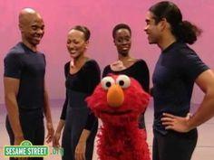 Sesame Street: Alvin Ailey Dance -- Emotions (+playlist)