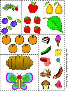 Storytime and More: The Very Hungry Caterpillar activities