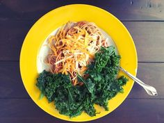 Late lunchtime! #mealforameal #homemade #kale #vegetarian