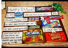 cute sayings to do with candy bars, great gift ideas. www.partyideas.com