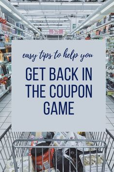 Money savers 829295718871267748 - Ready to get back in the coupon game and start saving money with coupons, rebates and sales? Take a look at these easy tips to help you get started again! Source by FrugalFunMom Couponing For Beginners, Couponing 101, Extreme Couponing, Ways To Save Money, Money Saving Tips, Money Savers, Saving Ideas, Budget Help, Digital Coupons