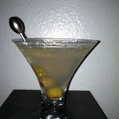 Dirty Martini ...Love them