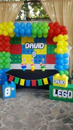 Decoration Ideas for Birthday Party Inspirational Pin by Felicia S event.- Decoration Ideas for Birthday Party Inspirational Pin by Felicia S event.- Decoração Lego Lego Birthday Party Ideas for Boys Lego Themed Party, Lego Birthday Party, 6th Birthday Parties, Balloon Birthday, Birthday Ideas, Birthday Design, Lego Party Decorations, Balloon Decorations, Alien Party