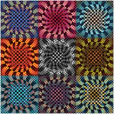Tiffany Inglis | Bridges Math Art Galleries  So very Vasarely! Love it!