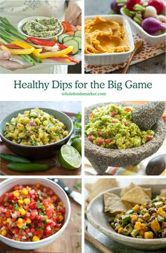 Healthy Dips for the Big Game | Up your game with these quick and easy tailgating recipes | Simple Big-Game Recipes and Ideas | Healthy Entertaining | Whole Foods Market
