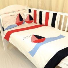 nautical cot bundle