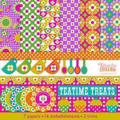 Alice Apple Teatime Treats Digital Kit