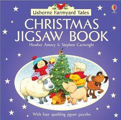 Christmas Jigsaw Book (Usborne Farmyard Tales Jigsaw Books) by Heather Amery,http://www.amazon.com/dp/0794502199/ref=cm_sw_r_pi_dp_VKsSsb0WTR9S3QEE
