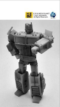 MechPlanet's Hot Soldiers HS02 Unofficial Legends Optimus Prime Prototype Photos