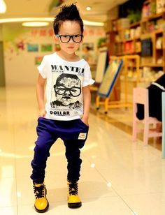 Liam would rock this outfit out!!! Need to find shoes like this for him!!!!