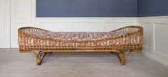 Italian rattan daybed 1950's / theapartment.dk