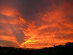 Evening  sky, great