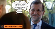 Rajoy se burla de los españoles