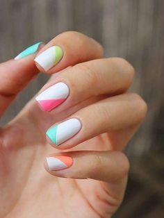Spring Nails 45 Spring Nail Art Designs - Nail Art Ideas for Spring 2019 Manicures. 45 Spring Nail Art Designs - Nail Art Ideas for Spring 2019 Manicures. Cute Nail Art Designs, Short Nail Designs, Nail Designs Spring, Simple Nail Designs, Gel Nails At Home, Diy Nails, Cute Nails, Spring Nail Art, Spring Nails