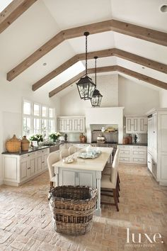 Old World Kitchen - Luxe Interiors + Design