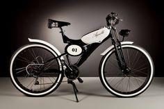 Винтажные электро-велосипеды Luca Agnelli