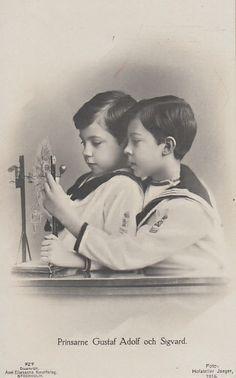 Prinzen Sigvart und Gustaf Adolf von Schweden | Flickr - Photo Sharing!