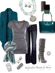 Love this re-edit- Casual Cool necklace & earrings, Odyssey ring, Gateway & Casual Chic bracelets, and Cairo watch!!!