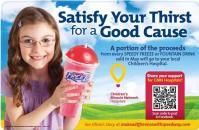 Visit any Speedway this month and a portion of drink sales will benefit Dayton Children's!