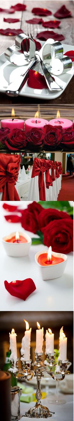 Include Romance in Your Wedding Theme with a Romantic Red Colour Scheme! Happy Valentine's from hitched.com.au