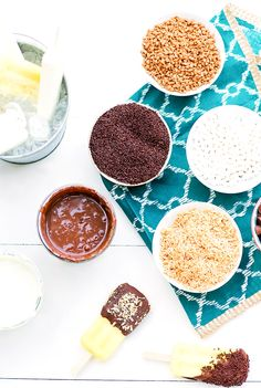Popsicle bar toppings for any party