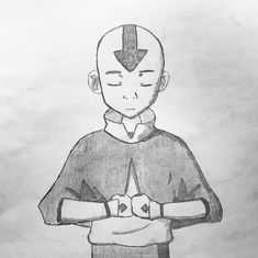 Avatar The Last Airbender Discover Avatar the Last Airbender Drawing Book Unique Aang Sketch thelastairbender Drawings In 2019 Anime Drawing Books, Best Anime Drawings, Art Drawings Sketches, Anime Sketch, Disney Drawings, Cute Drawings, Avatar Aang, Avatar Airbender, Orca Tattoo
