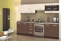Kuchyňa Amanda 260 - Halmar   nabytok-bogart.sk Bathroom Lighting, Conference Room, Kitchen Cabinets, Amanda, Furniture, Design, Home Decor, Google, Living Alone