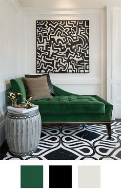 69 Trendy Painting Ideas For Living Room Green Apartment Therapy Living Room Green, Green Rooms, Bedroom Green, Bedroom Decor, Emerald Green Bedrooms, Emerald Green Decor, Black And White Living Room Decor, Bedroom Ideas, Green Home Decor
