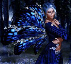 Blue Elf Fairy.gif