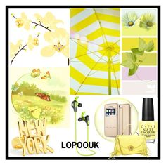 """LOPOO UK Kopfhörer Bluetooth"" by lopoouk on Polyvore featuring Folio and Kate Spade"
