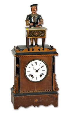 My First Clock E Ingraham Amp Co Ionic Parlor Clock Ca