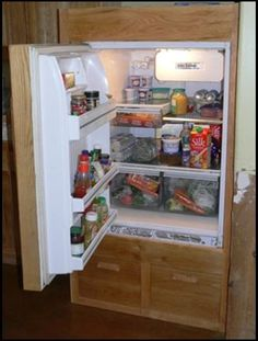 Build your own battery powered refrigerator or freezer