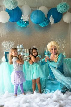 Frozen (Disney) Birthday Party Ideas