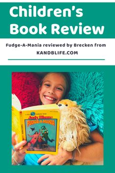 Read 9 year old Brecken's Children's Book Review on one of Judy Blume's classics, Fudge-A-Mania!  Will Brecken recommend it to you?  Find out now! Book Reviews For Kids, 9 Year Olds, Love Book, Fudge, Childrens Books, Reading, Life, Judy Blume, Children's Books