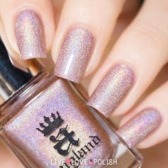 Swatch of A-England Her Rose Adagio Nail Polish