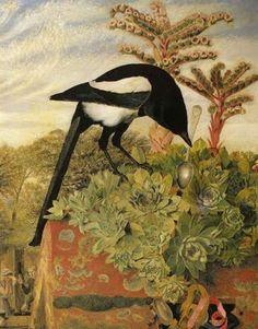 European Magpie illustration William J. (Webbe) Webb (1853–1878): A Thief of a Magpie, 1856