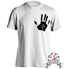 Koszulka Ręce Boga Dłoń - Biała