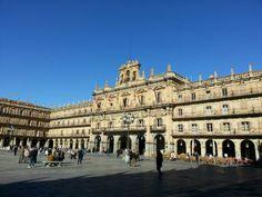 Plaza Mayor Salamanca 2013