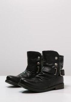 Buffalo - Cowboy/Biker boots - preto