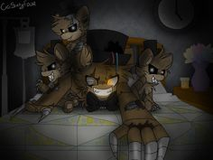 Keep An Eye On All Your Toys by CiciSixtyfour on DeviantArt