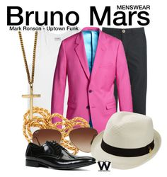 """Bruno Mars"" by wearwhatyouwatch ❤ liked on Polyvore featuring Dolce&Gabbana, Oliver Spencer, Rayban, Roial, Melissa Odabash, ALDO, music, wearwhatyouwatch and menswear"
