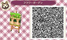 Pillar Border Planters - Animal Crossing New Leaf QR Code