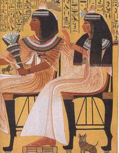 Tomb of Ipuy, Theban tomb (TT217), Dyn 19, reign of Ramses II