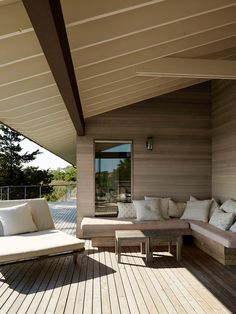 Outdoor Living (Est Living | Shelter Island Home | Ochre) #OutdoorLiving