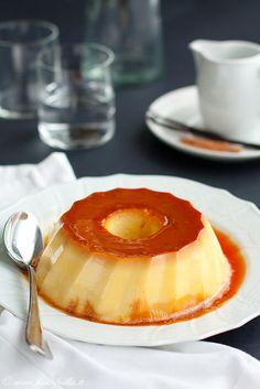 Italian Creme Caramel Pudding (Il budino fiordilatte bolognese)