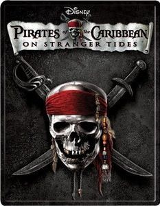 Pirates of the Caribbean On Stranger Tides Blu-Ray Steelbook